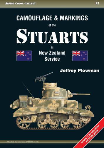 Camouflage & Markings of the Stuarts in New Zealand Service (Armor Color Gallery, Band 7)