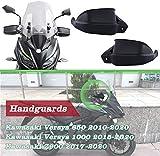 XX ecommerce Manillar de motocicleta para proteger las manos, protección de los frenos, embrague, protección contra el viento, para Kawasaki Versys 650 1000 Z900