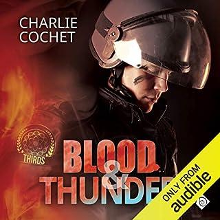 Blood & Thunder audiobook cover art