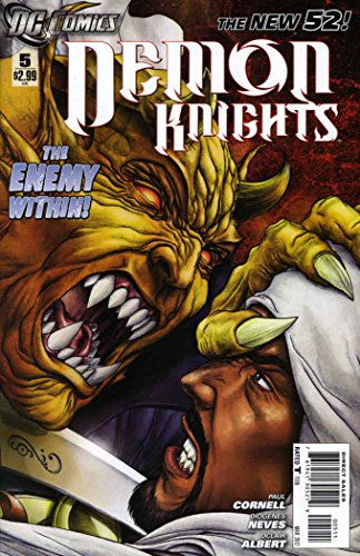 Demon Knights #5 VF/NM ; DC comic book