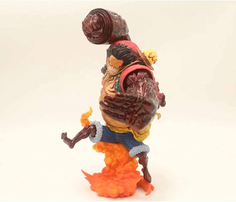 YCHBOS One Piece giocattolo Statue Rufy Anime modello, Home Office Decoration giocattolo modellolo in PVC bambola-24CM Statua del Giocattolo