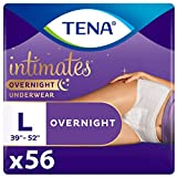 Tena Intimates Incontinence Overnight Underwear for Women, Size Large, 56 ct