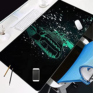 HSPHFX Gaming Mouse Mat Psycho-Pass Large Cyberpunk Mouse Pad | XL Home Office Working Table Mat | Improved Precision And ...