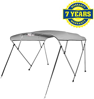4 Seasons Bimini Top Boat Cover 4 Bow 8 ft. Long in Different Sizes & Colours
