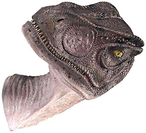 Design Toscano Gigantischer Allosaurus, Dinosaurier-Wandtrophäe: Geschlossener Mund