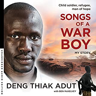 Songs of a War Boy audiobook cover art