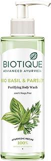 Biotique Bio Basil & Parsley Purifying Body Wash, 200 ml