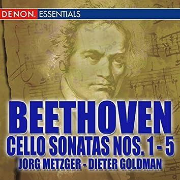 Beethoven: Cello Sonatas Nos. 1 - 5