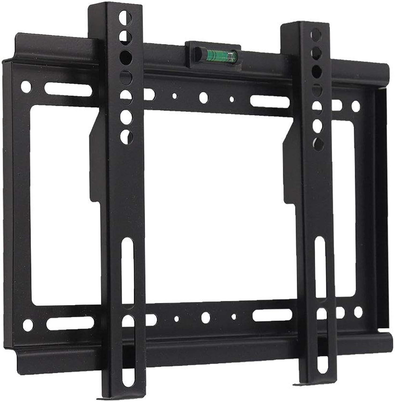 TV Hanger LCD TV Rack Wall Bracket Black Universal 15-32 Inch (color   Black)
