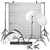 Best Continuous Lighting Kits - Emart Photography Umbrellas Continuous Lighting Kit, 400W 5500K Review