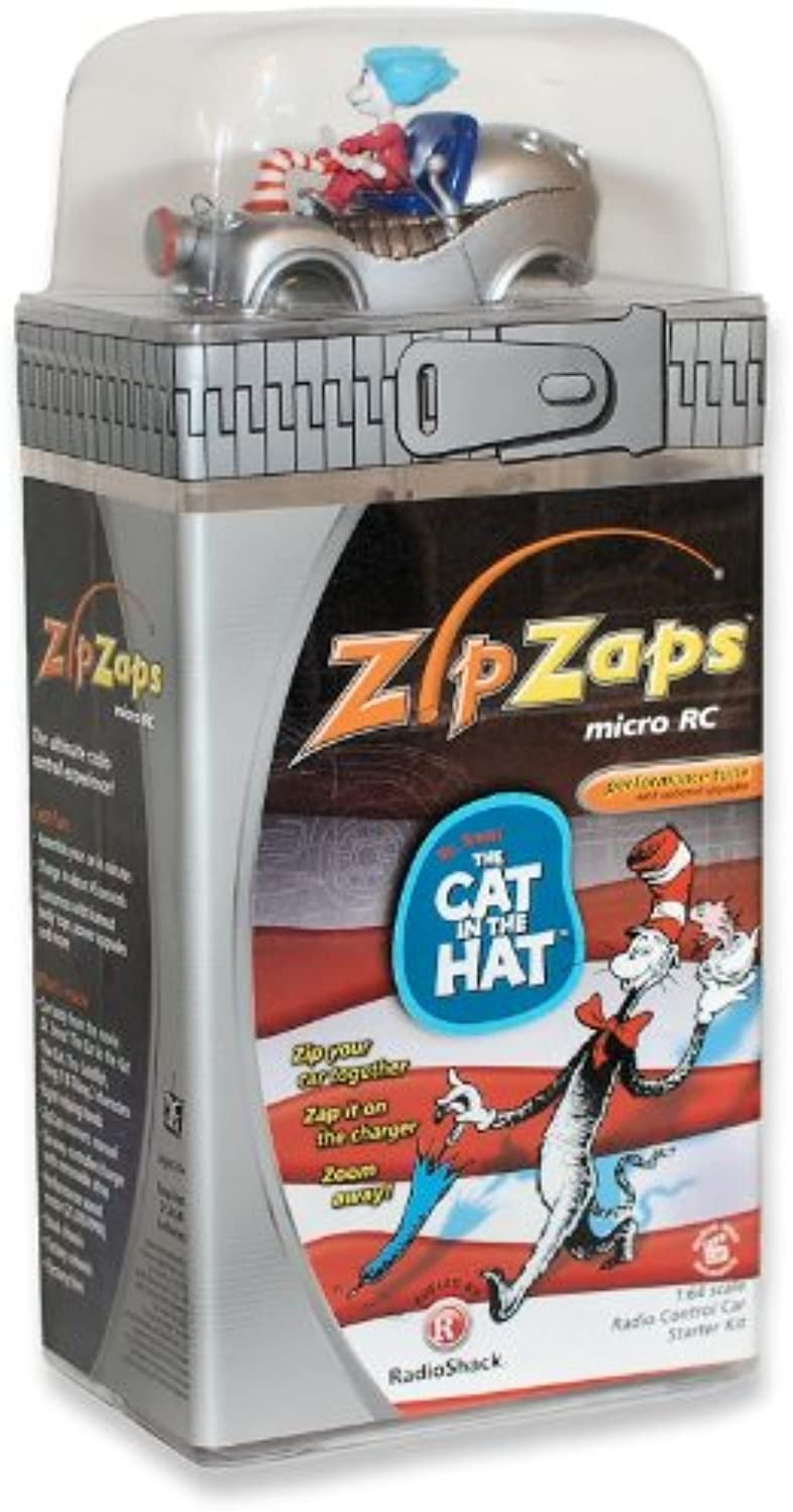 Zip Zaps Micro RC Car The Cat in the Hat 27MHz by ZipZaps