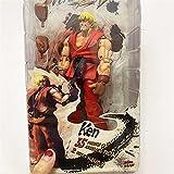 JSJJAUA Figura de acción Figura Juego Carácter Ken Doll Guile Toy Akuma Gouki Hoshi NECA Chun-Li Figura de acción Colección de Regalo Muñeca muñeca (Color : D in Retail Box)