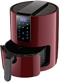 Friteuse à air, Friteuse à air chaud 1350 W, Friteuse à air électrique 3,5 litres sans graisse, Friteuse intelligente avec...