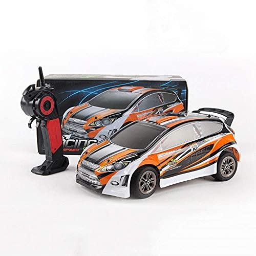 ZCYXQR 9119 1/12 Scale Flat Running Rally Coche de Control Remoto 2.4G Racing Drift RC Vehículo 28KM / H RC Racing Car Anti-Collision and Dr (Regalo de cumpleaños Festivo)