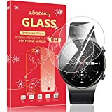 【2件裝】For Huawei Watch GT2 Pro 鋼化玻璃膜 GALAXY Watch GT2 Pro 液晶保護膜 【日本產旭硝子制造】高透光率/硬度9H / 防指紋/防飛散/超薄型 / 2.5D 圓邊加工 zbseeky【終身保修】(Watch GT2 Pro)