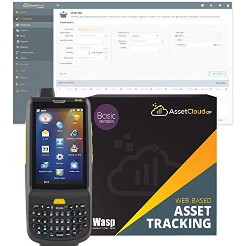 Sale!! Wasp Barcode - 633809006296 - Wasp HC1 2D Mobile Computer with QWERTY Keypad - 3.8 LCD - Wire...