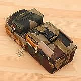 DEMXYA Lager-Briefpapier-Tasche, Multi-Layer-Camouflage mit großer Kapazität, verschleißfeste,...
