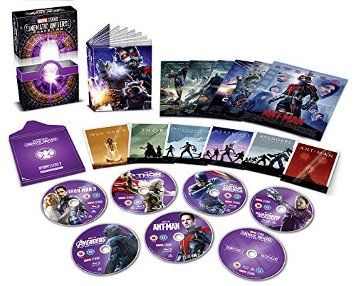 Marvel Cinematic Universe Phase 2 [Collector's Edition] [Blu-ray] [Region Free] [UK Import]