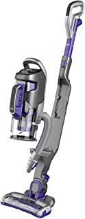 Black+Decker Multipower Pet Cordless 2-in-1 Stick Vacuum with Removeable Hand Vacuum, Purple - CUA525BHP-GB