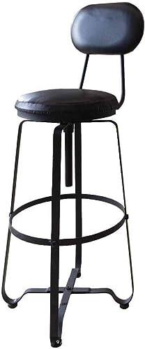 SHIJIAN Chaise de bar moderne style tabourets de bar comptoir chaise cuisine petit déjeuner tabouret de bar portant le poids 120kg