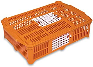 Small Poultry Shipping Crate, Yellow, 26.37