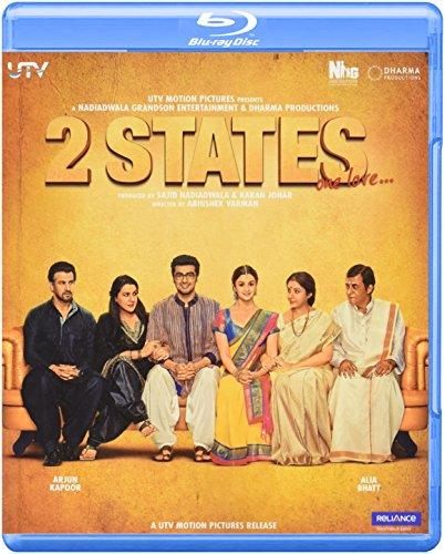 2 STATES - Blu-ray (Hindi mit Untertiteln) 2014 - Arjun Kapoor, Alia Bhatt, Amrita Singh