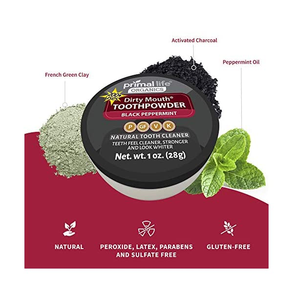 Dirty Mouth Organic Toothpowder