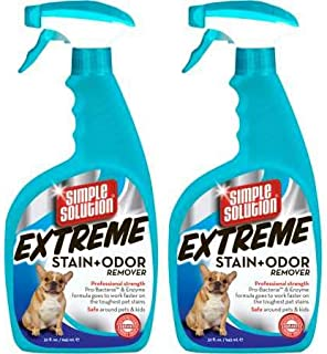 Simple Solution Extreme Stain Odor Remover Spray (64 fl oz) 2 Pack