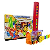 GMN El Coche de Juguete del Tren del dominó para niños Pone automáticamente Juguetes eléctricos del Coche del dominó