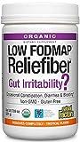 Natural Factors, Organic Low FODMAP Reliefiber, Digestive Fiber Powder, Tropical, 7.09 Oz