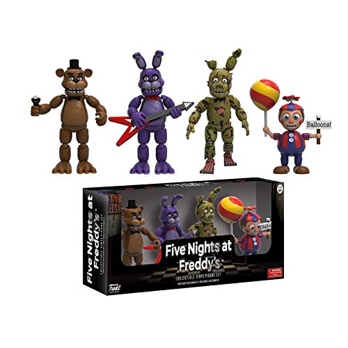 Gogowin Five Nights at Freddy'S : 4-Piece Set (1 Set) #02 Games Fans 2-Inch