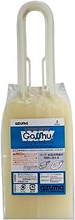 アズマ コップ洗いスポンジ ゴッシュカップクリーン大IV  アイボリー 幅7.5cm 全長25cm コップの内側と外側が一度に洗える