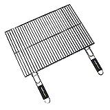 Cook'in Garden Gr026 - Rejilla rectangular doble (60 x 40 cm)