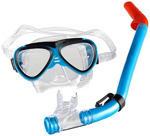 Waimea Kinder Tauchermaske mit Schnorchel Tauchmaske, Kobaltblau, Einheitsgröße