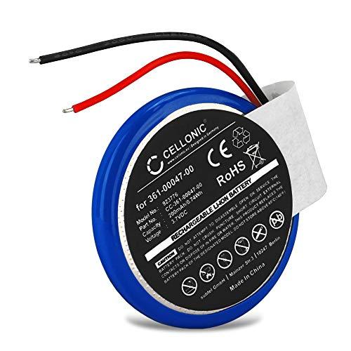 CELLONIC Batería de Repuesto PD3032, 361-00047-0 Compatible con smartwatch Garmin Approach S1, Forerunner 110, Forerunner 210, Forerunner 610, Forerunner S1, 200mAh Accu Battery Pack
