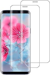 【2021年最新バージョン】Galaxy S8 ガラスフィルム S8 フィルム ギャラクシー S8 強化ガラス SC-02J 保護フィルム S8 SCV36 液晶保護 フィルム【日本製素材旭硝子製】最大硬度9H/高透過率/3D Touch対応/...