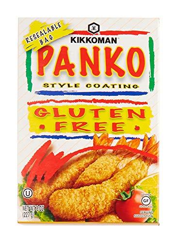 Kikkoman Panko Slyte Coating Gluten Free, 8 Ounce, natural