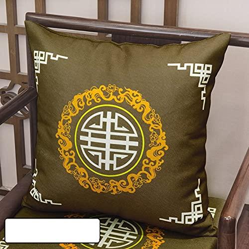 Fodere per cuscini Federe Comfort Stampa in stile cinese Cuscino quadrato e rettangolare per divano e sedia