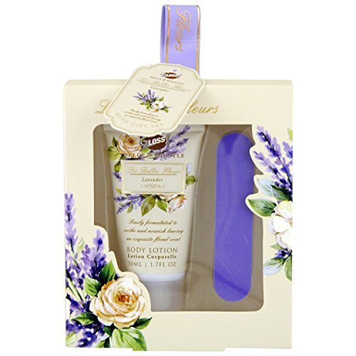 Gloss Les Belles Fleurs Set de Bain Lavande 2 Pièces