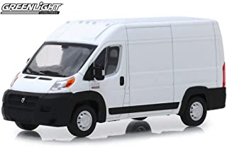 2018 Dodge Ram ProMaster 2500 Cargo Van High Roof?, Bright White - Greenlight 86152 - 1/43 Scale Diecast Model Toy Car