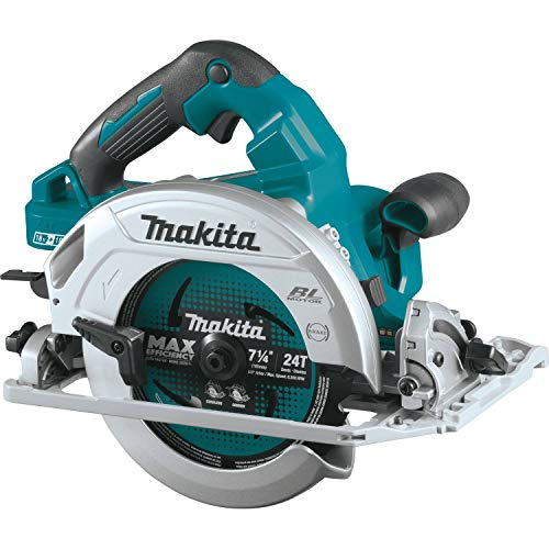 """Makita XSH08Z 18V x2 LXT Lithium-Ion (36V) Brushless Cordless 7-1/4"""" Circular Saw with Guide Rail Compatible Base, Tool Only"""
