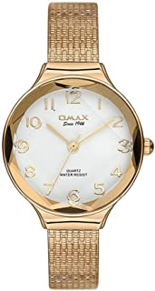 Omax Dress Watch For Women Analog Stainless Steel - 00FMB0026008