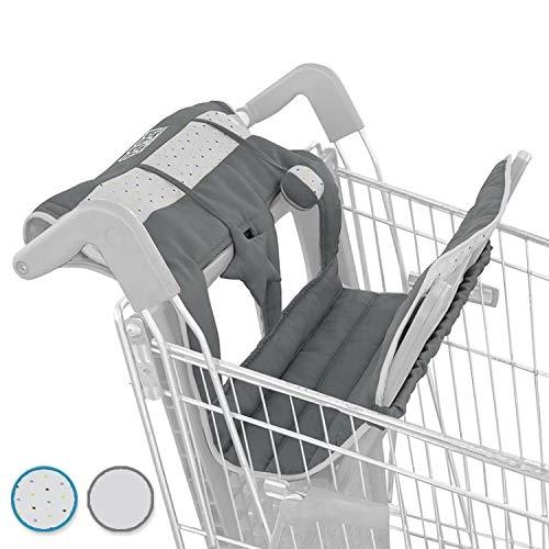 Monsieur Bébé ® Protège chariot pour enfant + Jouets - 3 coloris - Norme CE