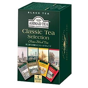 AHMAD TEA ( アーマッドティー ) クラシックセレクション ティーバッグ 20袋 [ アソート : ダージリン アールグレイ イングリッシュブレックファースト イングリッシュティーNo.1 ]