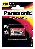 Panasonic PACR123A - Pilas (Oxyride, 3 V, 1600 mAh), Multicolor