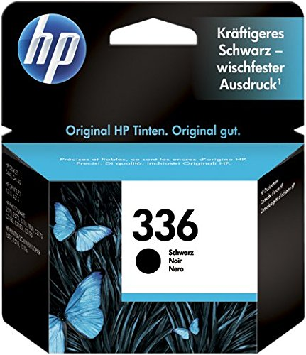 HP 336 C9362EE, Cartuccia Originale, da 220 Pagine, Compatibile con Stampanti a Getto di Inchiostro HP Officejet 6310, 6313, Photosmart 2710, 2713, C3180, 8150, D5160, 2575, Deskjet 5440, Nero