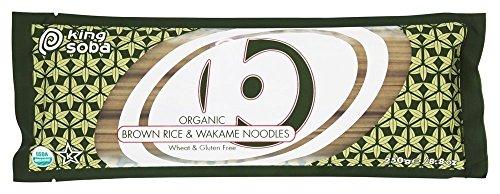 King Soba Org Brown Rice Wakame Noodles 250 g