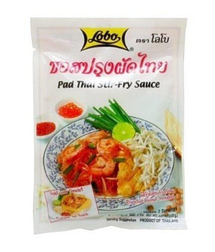 Lobo Pad Thai Stir-fry Bombing new work Sauce by 120g Fees free!! 3 of Pack