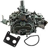 maXpeedingrods Carburetor for Chevy for Buick for Pontiac 1977-1979 1806268 Dual Jet 2BBL 305-350ci V8 Engine