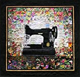Whims Watercolor Quilt Kits Grandma's Sewing Machine Quilting Supplies
